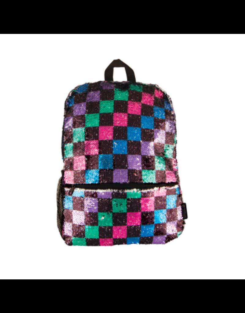 Fashion Angels Enterprises Checkerboard Magic Sequin Backpack