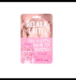 Fashion Angels Enterprises Face Mask Relax A Latte