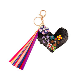 Fashion Angels Enterprises S. Lab Flower Covered Heart Bag Charm