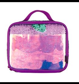 Fashion Angels Enterprises S. Lab Magic Sequim Lunch Tote-Purple/Holo Seafoam