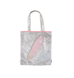 Fashion Angels Enterprises Magic Sequin Silver Holo/Irridescent-Tote Bag