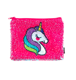 Fashion Angels Enterprises Magic Sequin Unicorn/Rainbow Reveal Pouch
