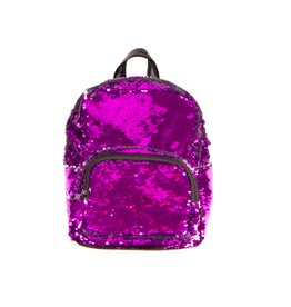 Fashion Angels Enterprises S. Lab Magic Sequin Mini Backpack-Purple/Silver