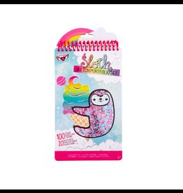 Fashion Angels Enterprises Sloth Shaker Compact Portfolio
