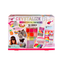 Fashion Angels Enterprises Crystalize It! Crystal Painting Super Set