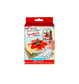 Fashion Angels Enterprises 100% Extra SM. Spaghetti Dinner Mini Clay Set
