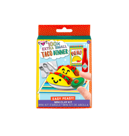 Fashion Angels Enterprises 100% Extra SM. Taco Dinner Mini Clay Set