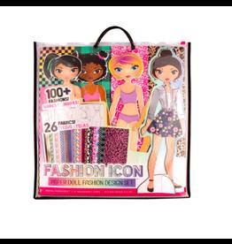 Fashion Angels Enterprises Fashion Icon Paper Doll Fashion Design Kit