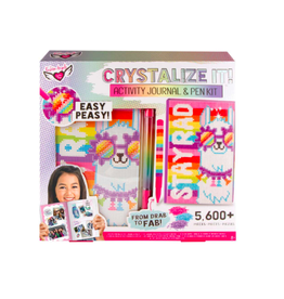Fashion Angels Enterprises Crystalize It! Activity Journal & Pen Set