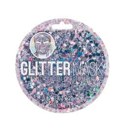 Fashion Angels Enterprises Glitter- Peel Off Glitter Mask-Silver