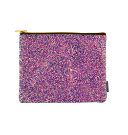 Fashion Angels Enterprises S. Lab Chunky Glitter Pouch-Midnight