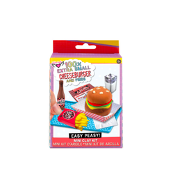 Fashion Angels Enterprises 100% Extra SM. Burgers & fries- Mini Clay Kit