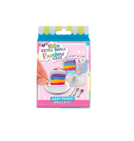 Fashion Angels Enterprises 100% Extra SM. Rainbow Cake- Mini Clay Kit