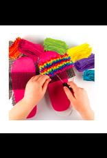 Fashion Angels Enterprises Latch Hook Slipper Kit-OSFA
