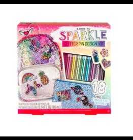 Fashion Angels Enterprises Glitter Pin Design Kit