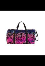 Fashion Angels Enterprises Scattered Magic Sequin & Velvet Duffel-Pink/Purple