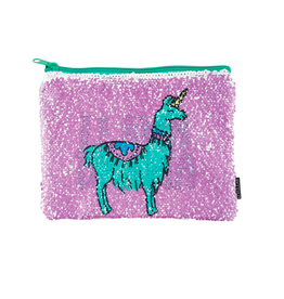 Fashion Angels Enterprises Magic Sequin Llama /Drama Reveal Pouch