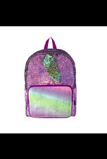 Fashion Angels Enterprises S. Lab Magic Sequin Backpack- Purple Holo/Seafoam
