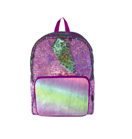 Fashion Angels Enterprises S. Lab Magic Sequin Backpack- Purple Holo/Seafoam