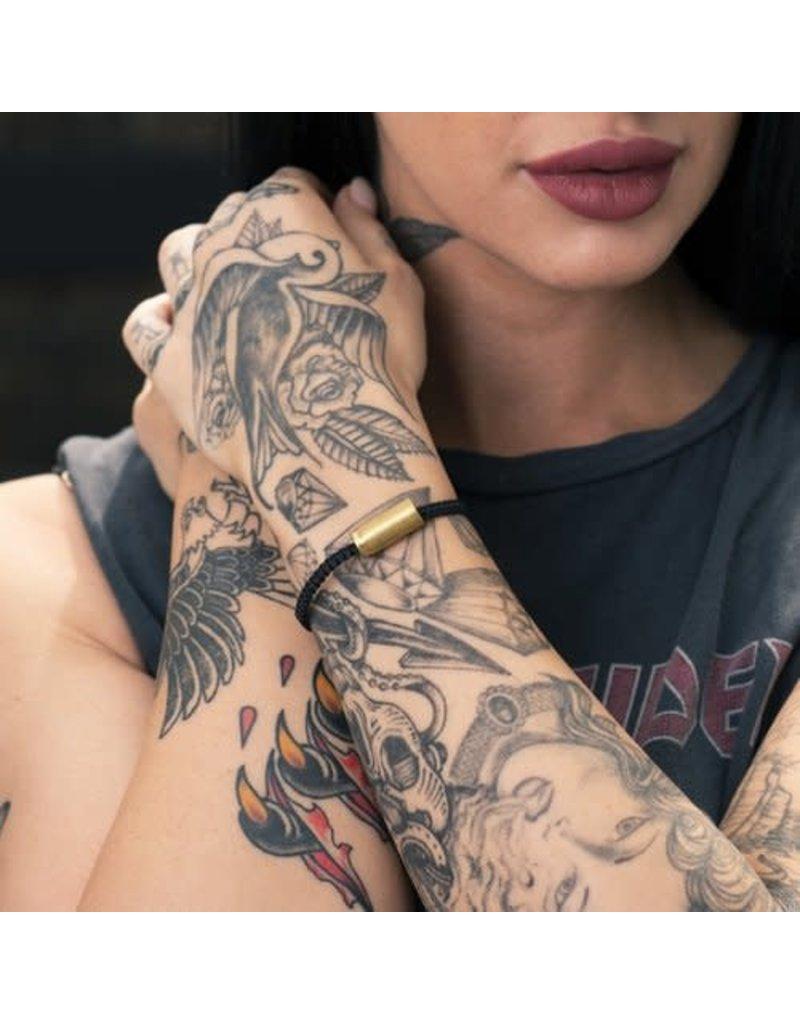 Brass & Unity Jewelry Inc. Black Warrior Adj. Rope Bracelet