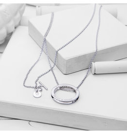 Brass & Unity Jewelry Inc. Unity Necklace, Silver Long