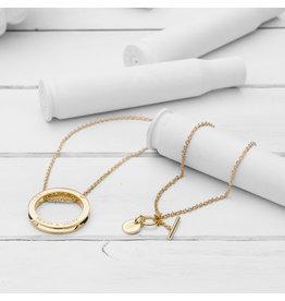 Brass & Unity Jewelry Inc. Unity Necklace, Gold Long