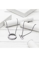 Brass & Unity Jewelry Inc. Unity Necklace, Black