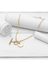Brass & Unity Jewelry Inc. Charm Necklace, Gold Short