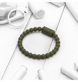 Brass & Unity Jewelry Inc. Active Bracelet, Military Green