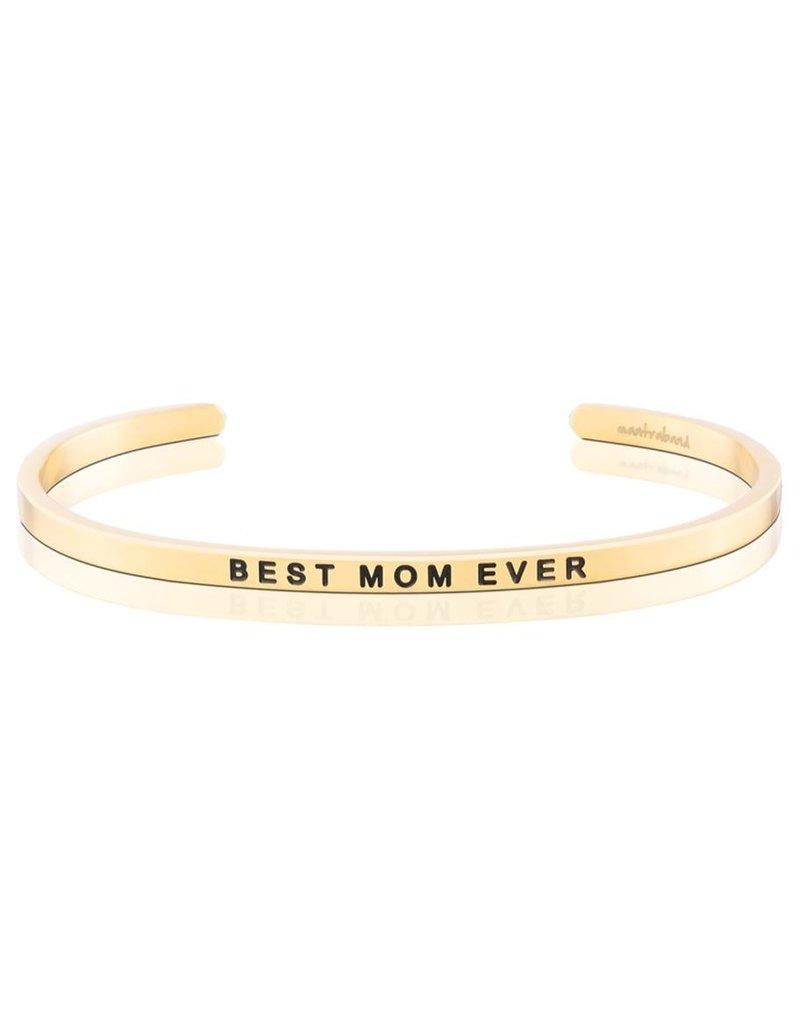 Mantraband BEST MOM EVER, GOLD