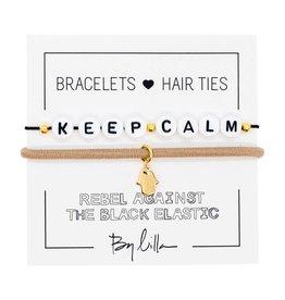 By Lilla Keep Calm Duo Hair Ties