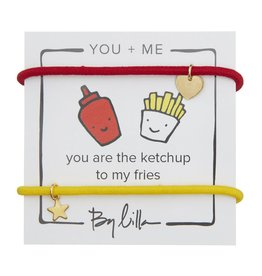 By Lilla You Are the Ketchup to My Fries, You + Me Pack