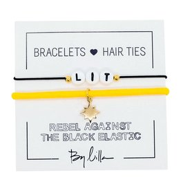 By Lilla Lit Duo Hair Ties