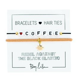 By Lilla Coffee Duo Hair Ties