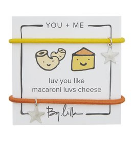By Lilla Luv You Like Macaroni Luvs Cheese, You + Me Hair Tie