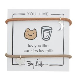 By Lilla Luv You Like Cookies Luv Milk, You + Me Hair Ties