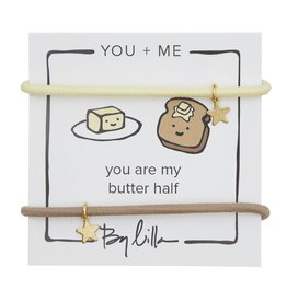 By Lilla You Are My Butter Half, You + Me