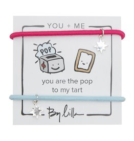 By Lilla You Are The Pop To My Tart - You + Me Hair Ties