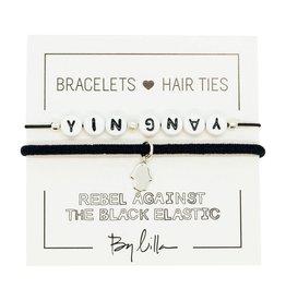 By Lilla Yin Yang Duo Hair Ties