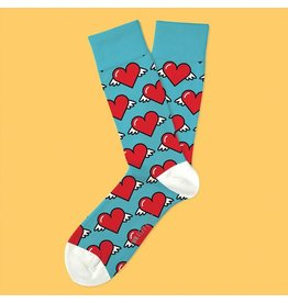 Two Left Feet Love is in the Air Socks