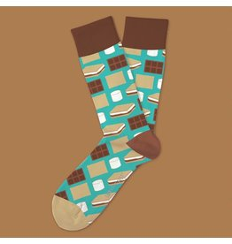 Two Left Feet S'mores Socks