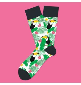 Two Left Feet Tropical Tucan Socks