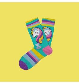 Two Left Feet Kids Socks-Love Is Magic