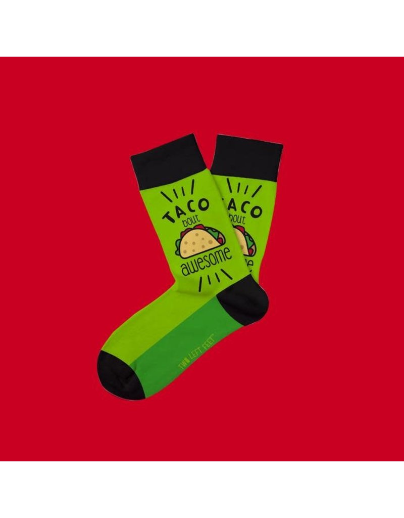 Two Left Feet Kids Socks-Taco Bout Awesome