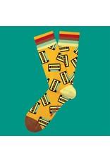 Two Left Feet Mixed Tape Socks