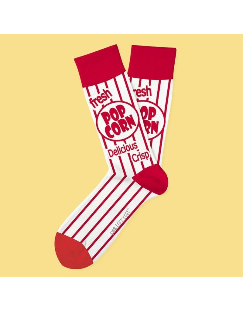 Two Left Feet Movie Night Socks