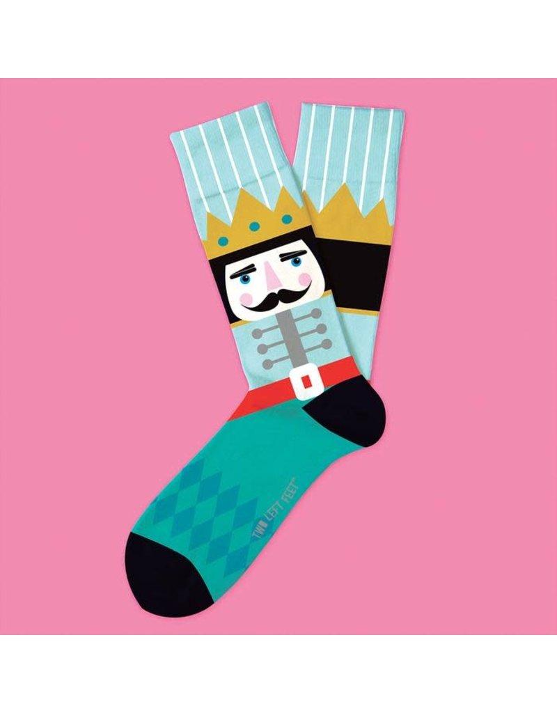 Two Left Feet Nutcracker Socks