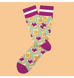 Two Left Feet PB&J Socks