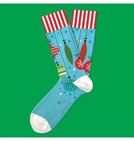 Two Left Feet Ornament Socks