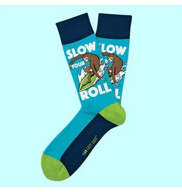 Two Left Feet Slow Your Roll Socks